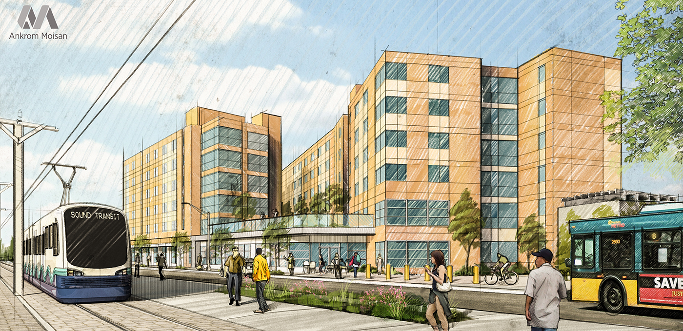 Smart Square Mercy >> WALSH Construction Co. | Mercy Housing Northwest to Build ...
