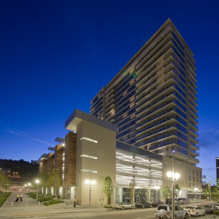 LEED Gold:  Riva on the Park